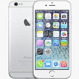 iPhone 6 Knust Grå Baggrund